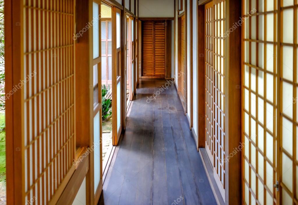 Japans huis corridor u2014 stockfoto © mantinov #99297740