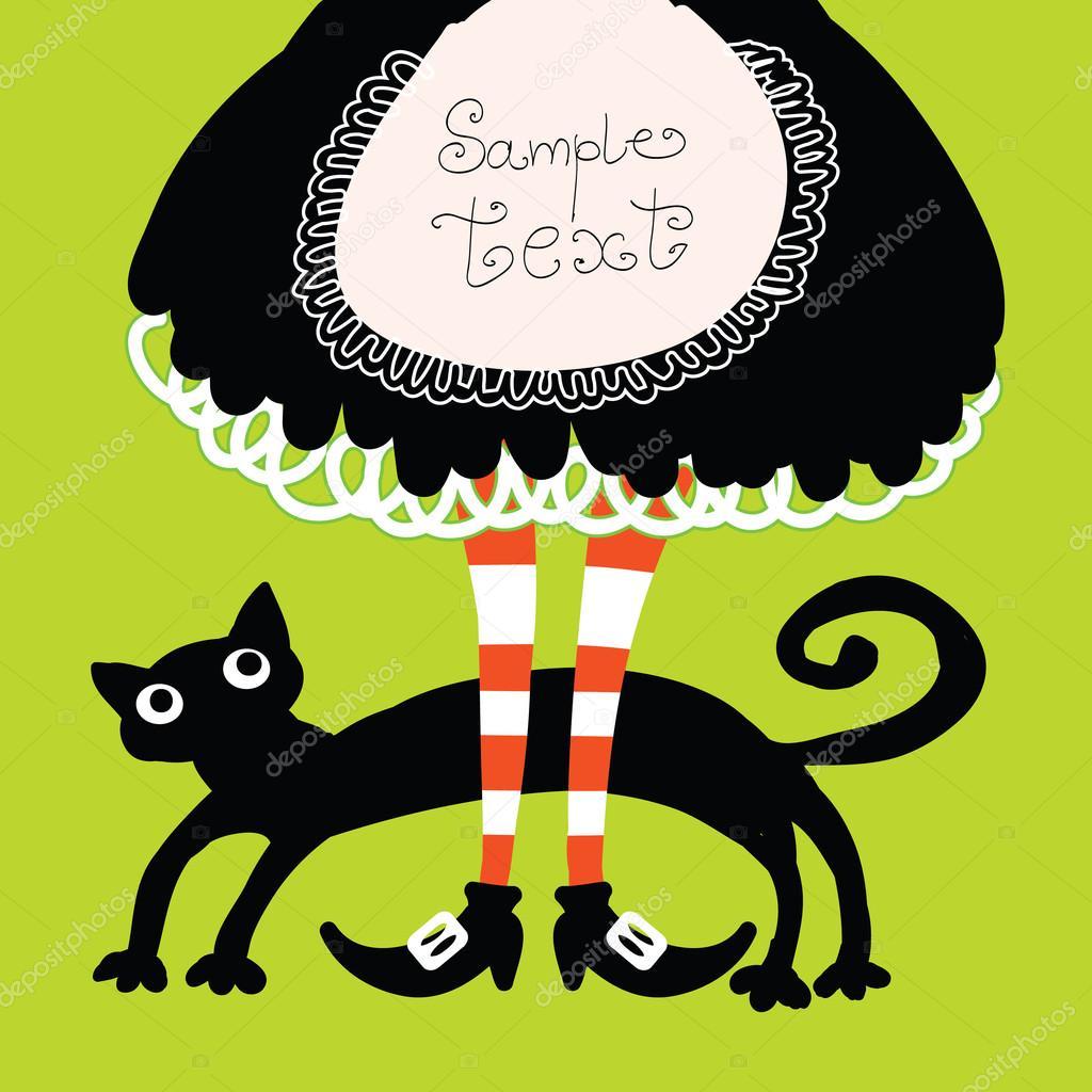 Black Cat Affiche