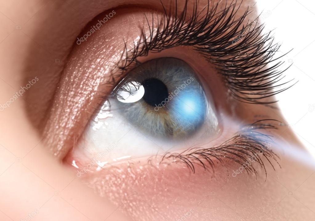 laser i ögat