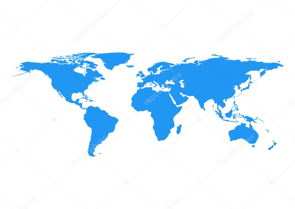 Vector world map element furnished by nasa stock vector vector world map element furnished by nasa stock vector gumiabroncs Images
