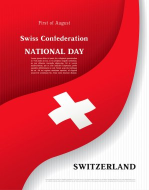 Switzerland. August, 1. National day
