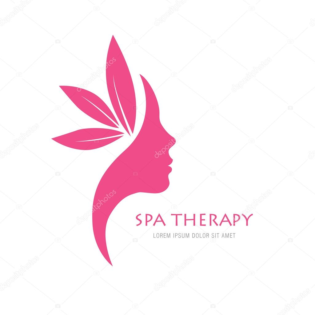 Beauty Salon Logo Concept Stock Vector C Igor Vkv 101109126