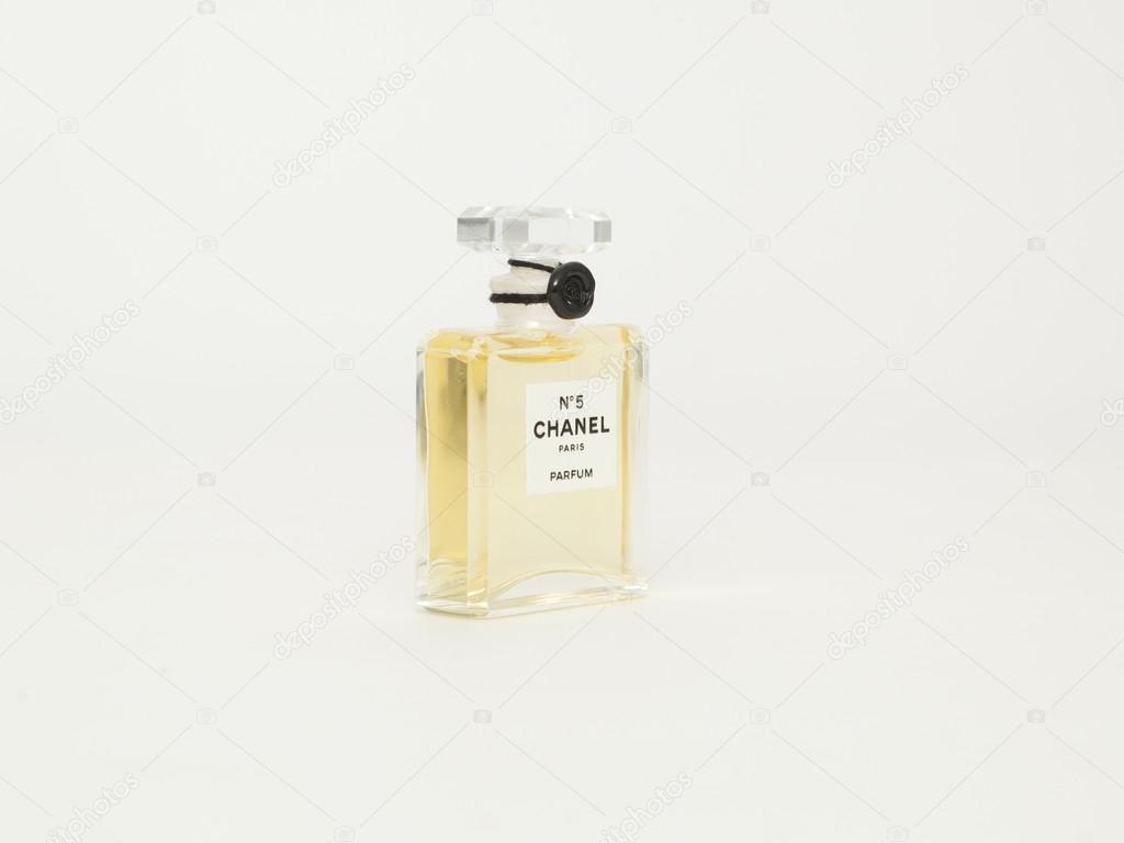 #5 Chanel Perfume bottle. Paris. France