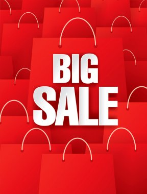 Big sale. red packages
