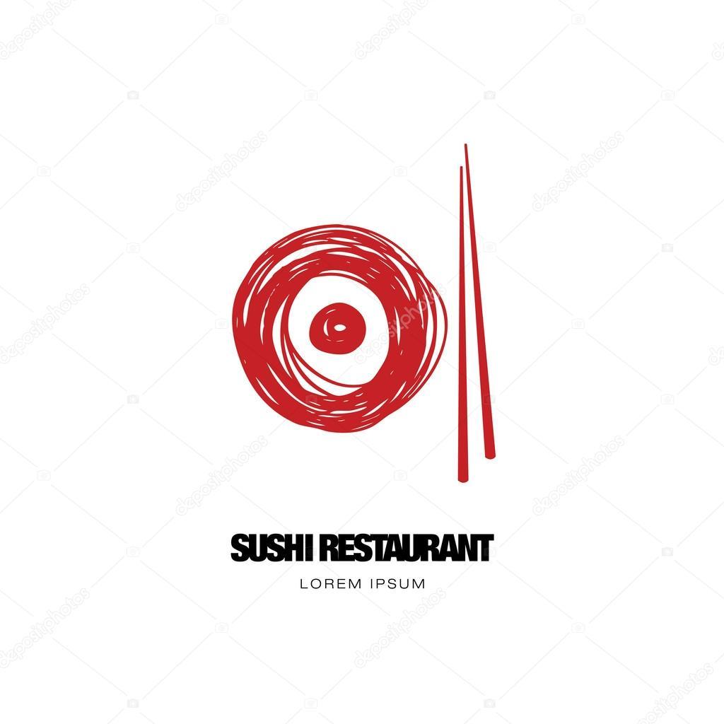 ᐈ Logo De Sushi Vector De Stock Vectores Sushi Logo Descargar En Depositphotos