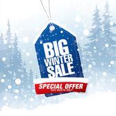 Fotografie Großes Winter-Verkauf-banner
