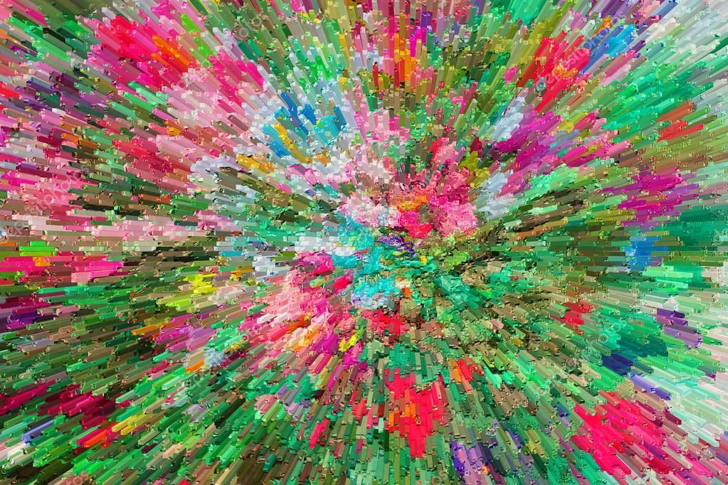 Geliebte Textur der Ölgemälde, Grafik lackiert Farbe, malen, Leinwand  MY87