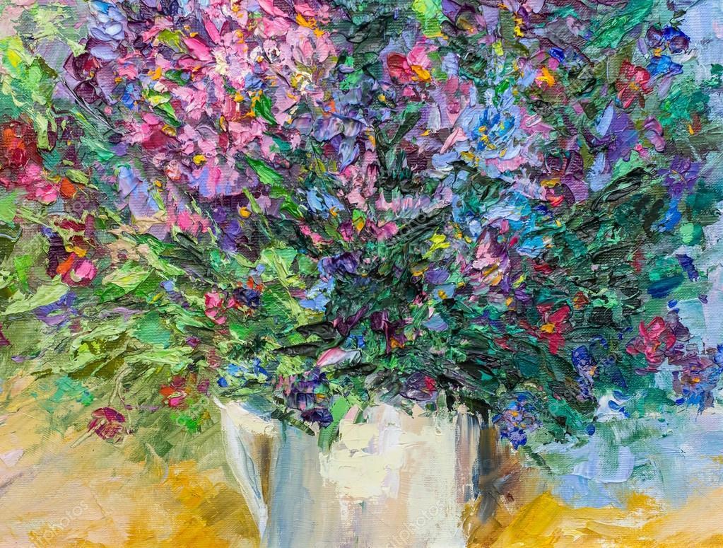 textuur schilderij