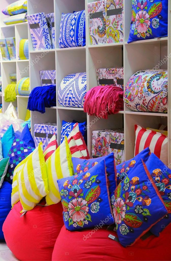 cojines decorativos decoración brillante para la venta en una