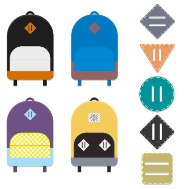 Backpacks and lash tabs