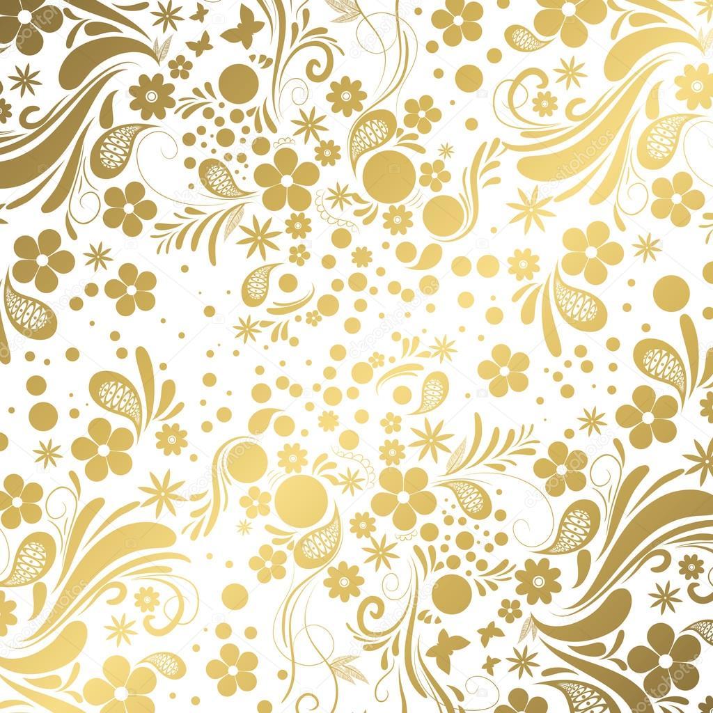 Sfondo Bianco E Oro Vettoriali Stock Orkidia 82946808