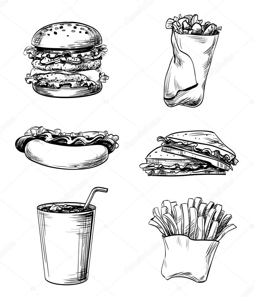 lines on junk food