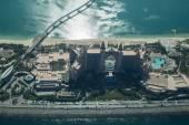 Letecký pohled na Atlantis The Palm Hotel