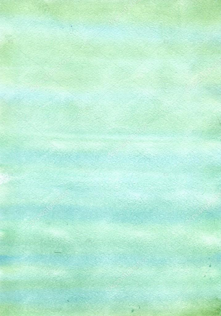 Vodove Barvy Zelene Pozadi Rucni Kresleni Akvarelem Abstraktni