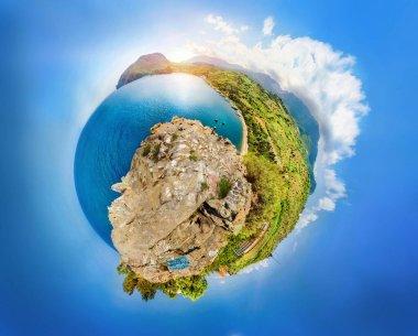 cyclorama Mount Ayu Dag and Cape Plaka, Crimea