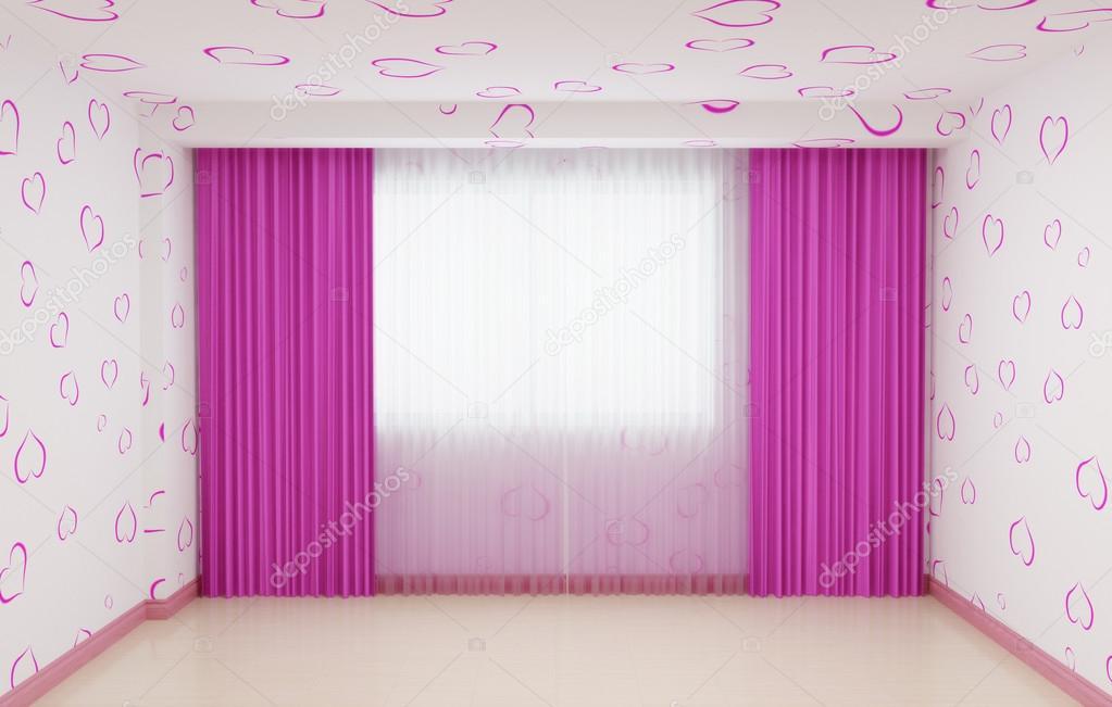 Imágenes: cuartos de niñas   Cuarto vacío renovado para niñas en ...