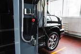 Dálkové ovládání vozu v garáži
