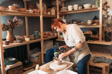 Pottery drying with special dryer