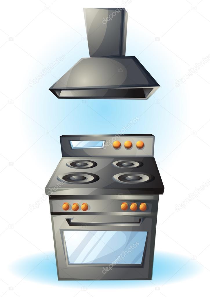 Dibujos animados de ilustraci n de vector de dibujos - Objetos de cocina ...