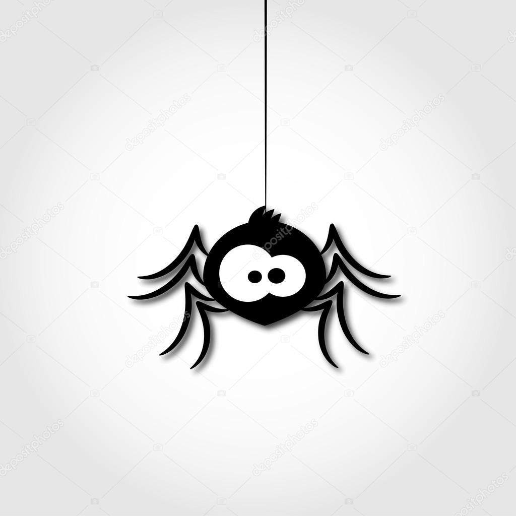 Вензеля, рисунок смешного паука