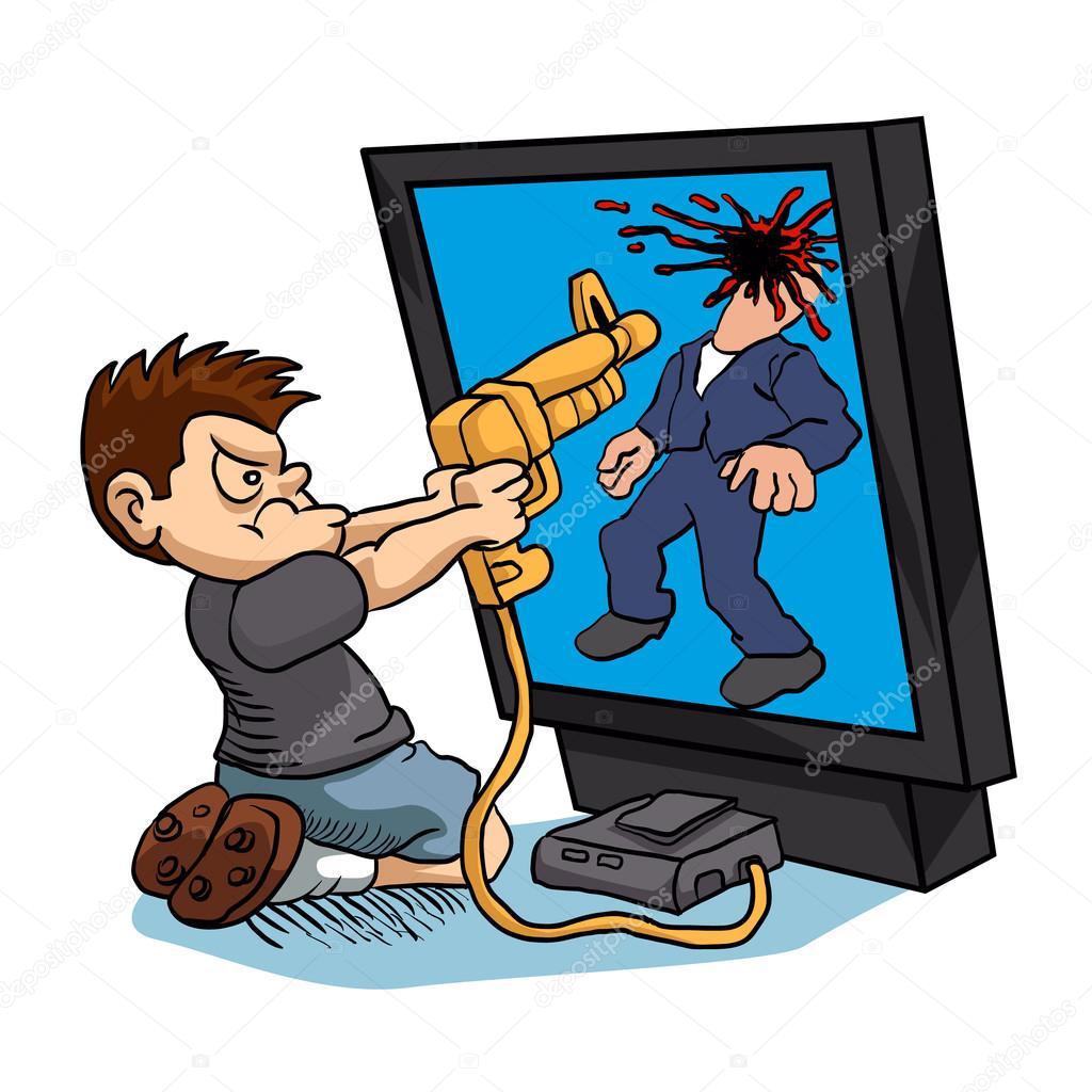 Imagenes Ninos Jugando Videojuegos Violentos Nino Enojado Jugando