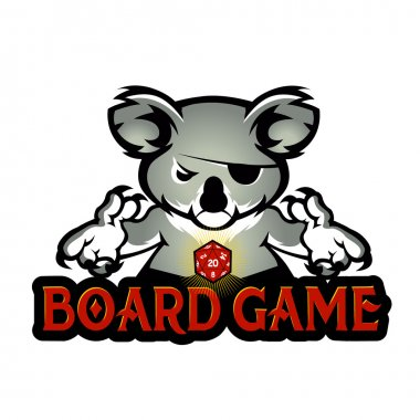 koala playing dice