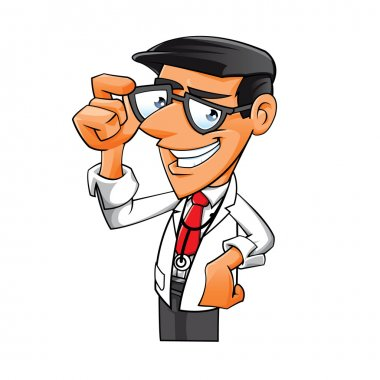 Young Doctor with glasses