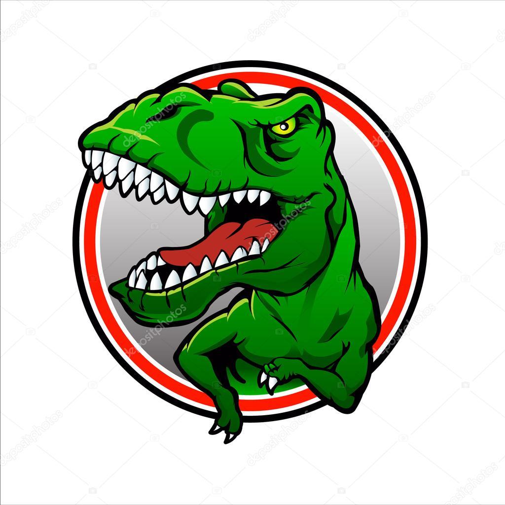 tyranosaurus rex vector drawing t rex stock vector milesthone
