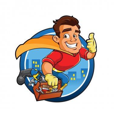 Superhero handyman