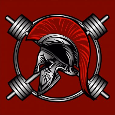 spartan fitness vector design