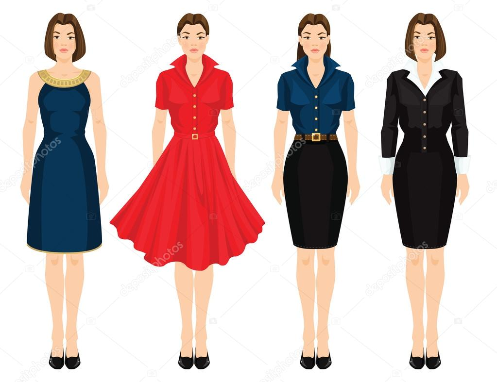 Bureau pour vetement robe de mode pour femmes vêtements d été