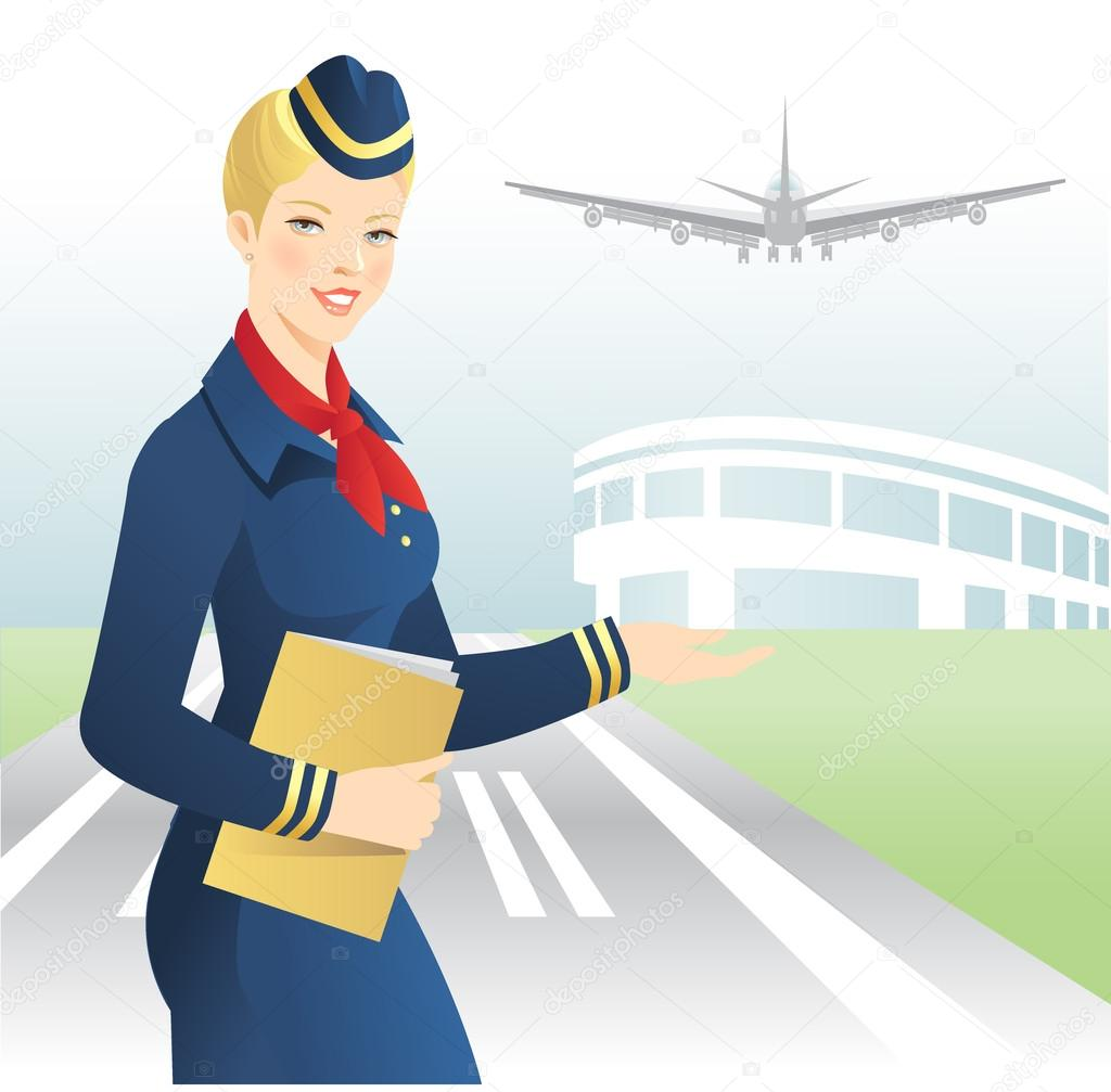 how to become an airline hostess