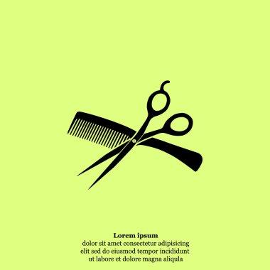 hairdresser salon icon