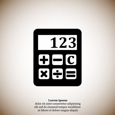 business calculator icon