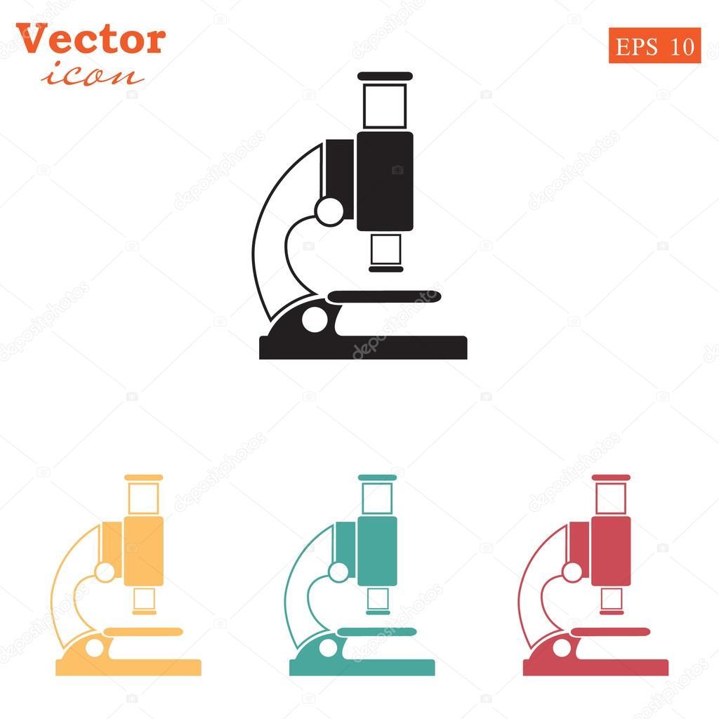 Laboratory microscope icons set stock vector victory stoker laboratory microscope icons set stock vector ccuart Gallery