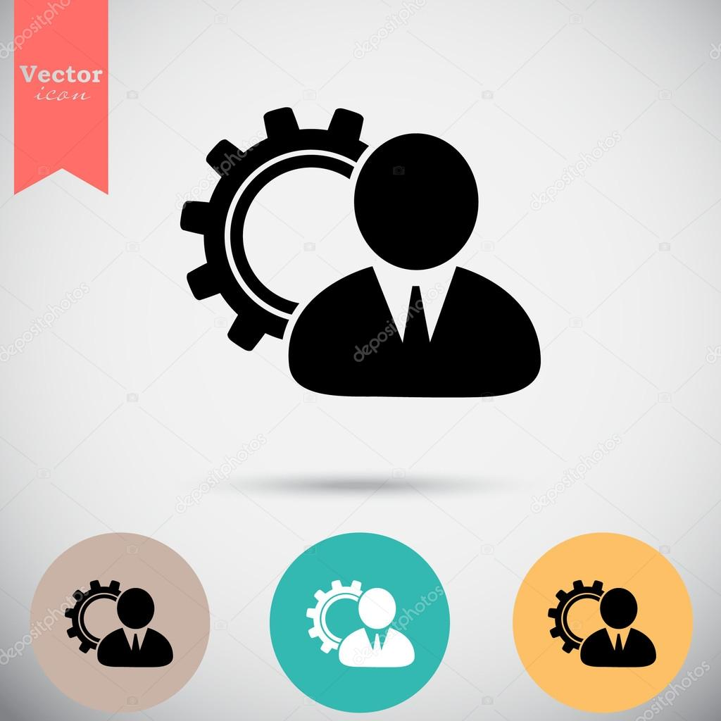 Business Manager Icons Stock Vector C Victory Stoker 107625772