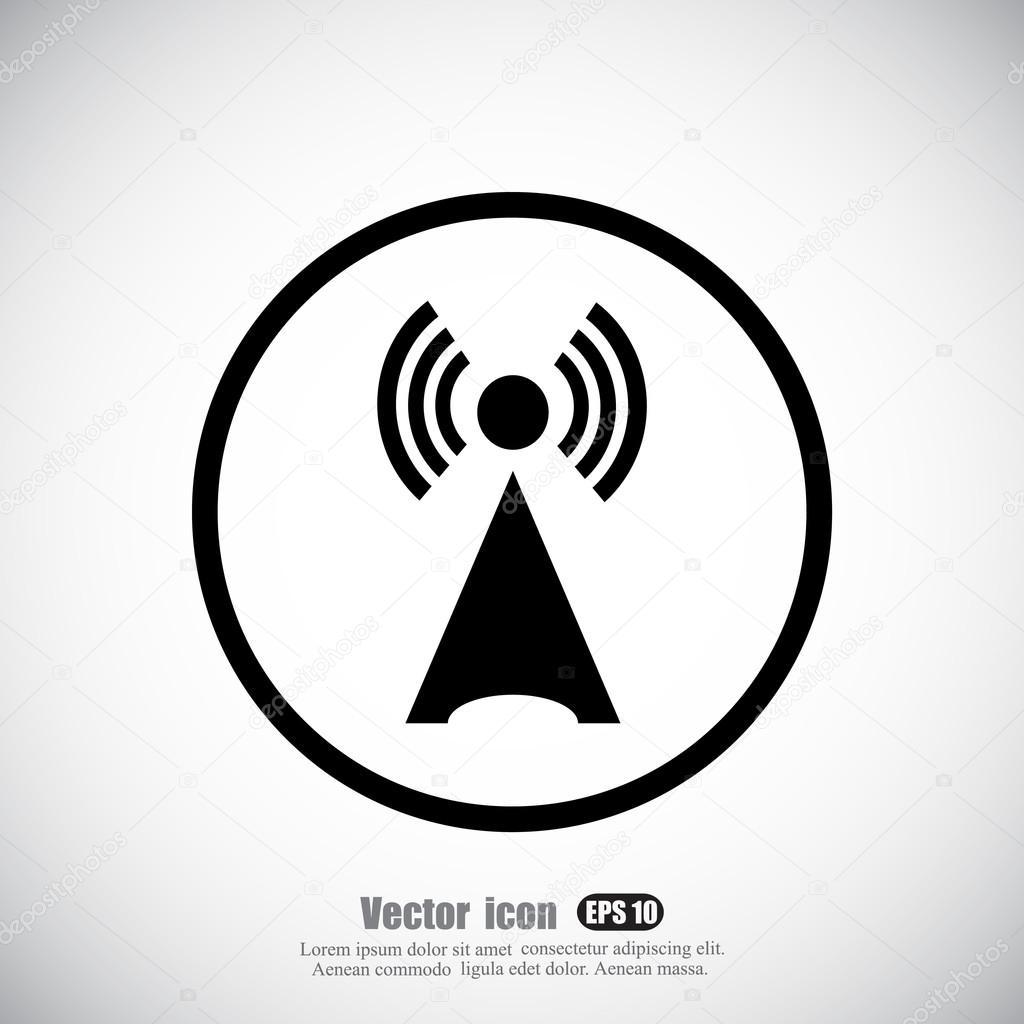 drahtlose Antennensymbol — Stockvektor © Victory-stoker #85584110