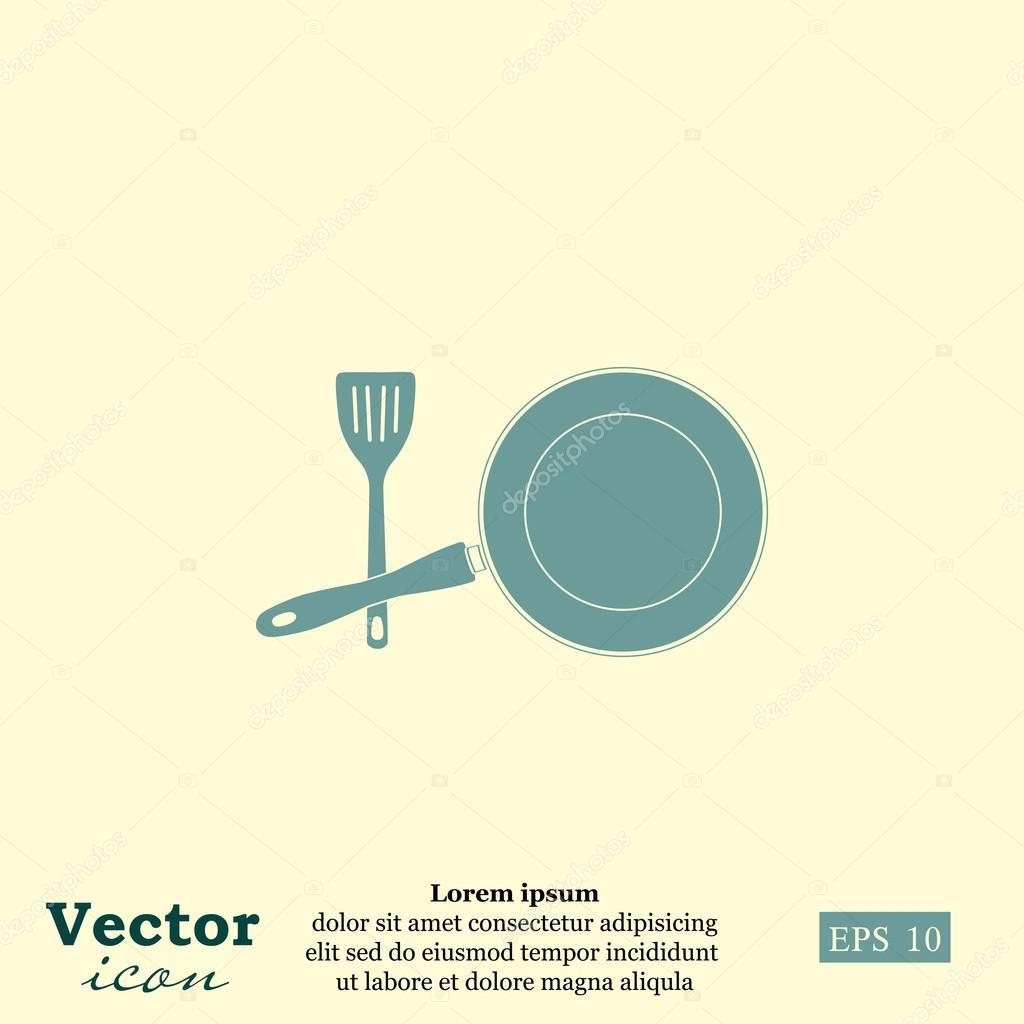 kitchen utensils icon — Stock Vector © Victory-stoker #86277752