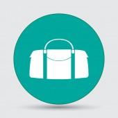 Kožená taška ikona