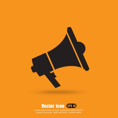 hand megaphone icon