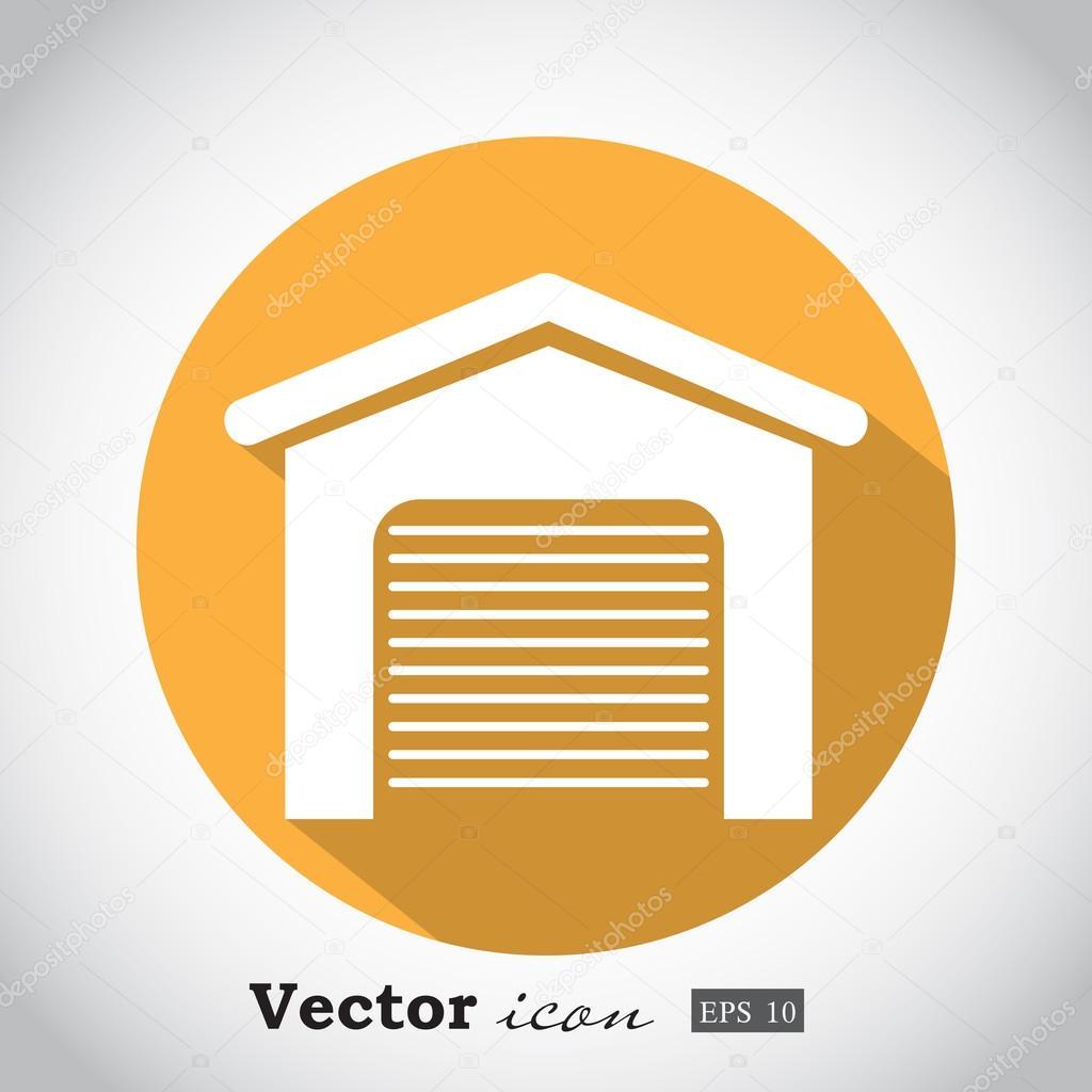 garage door icon � stock vector 169 victorystoker 86930152