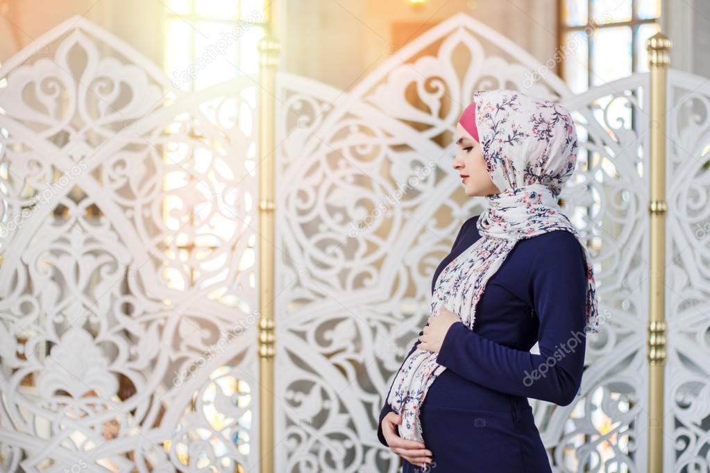 хиджабе картинки беременная в