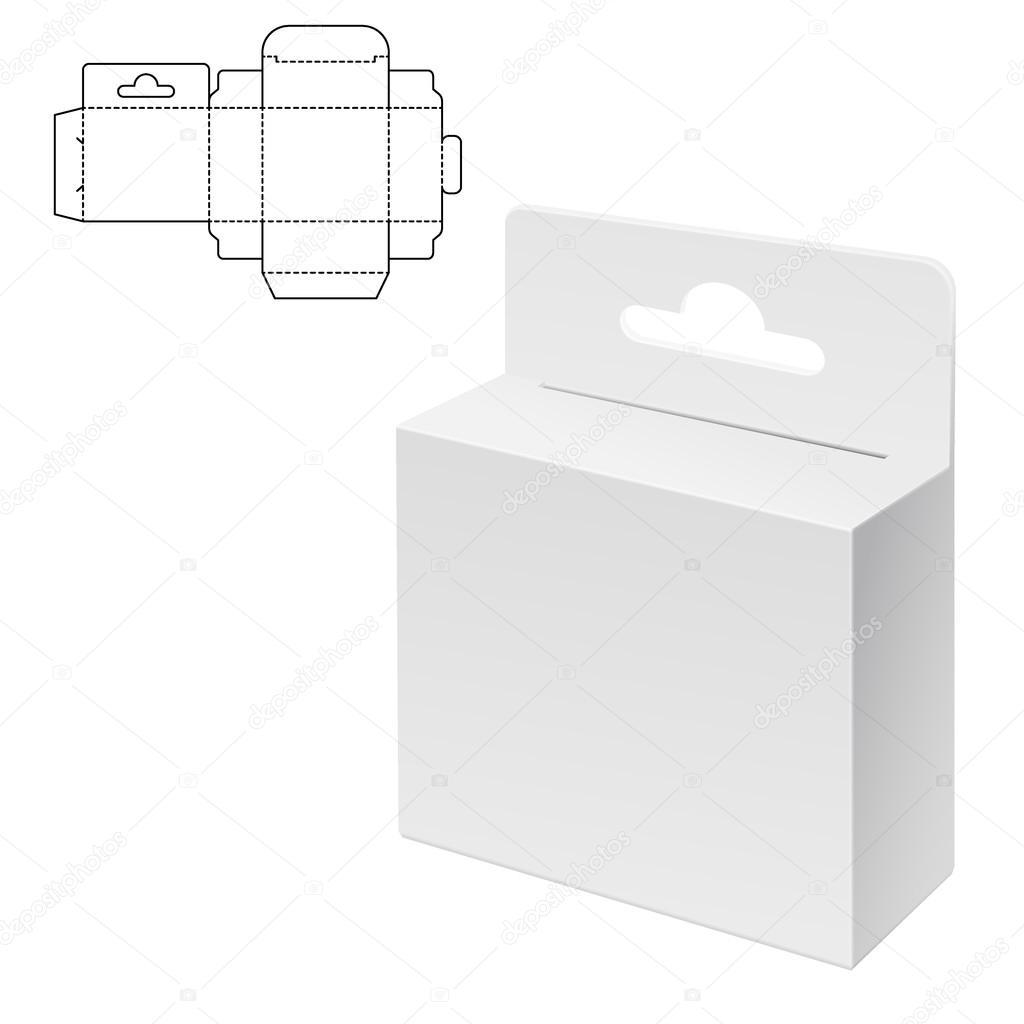 Diecut Craft Box Stock Vector C Katyr 101823638