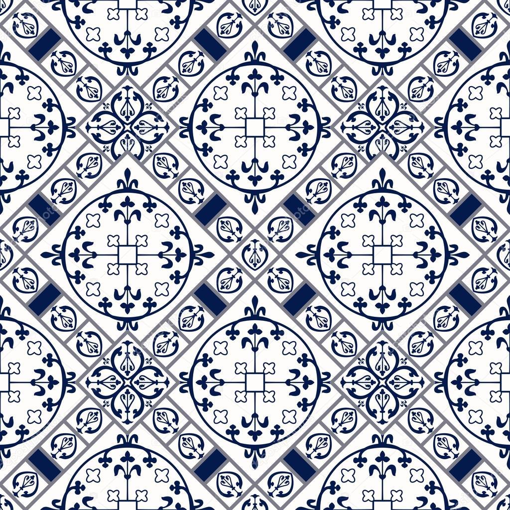 marokkanische fliesen muster stockvektor katyr 111037134. Black Bedroom Furniture Sets. Home Design Ideas