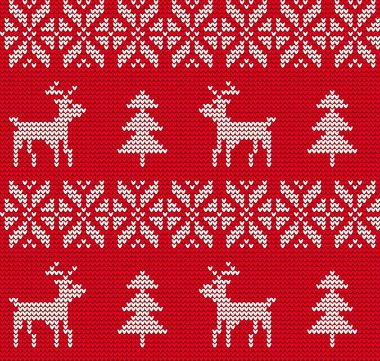 Ugly sweater Background