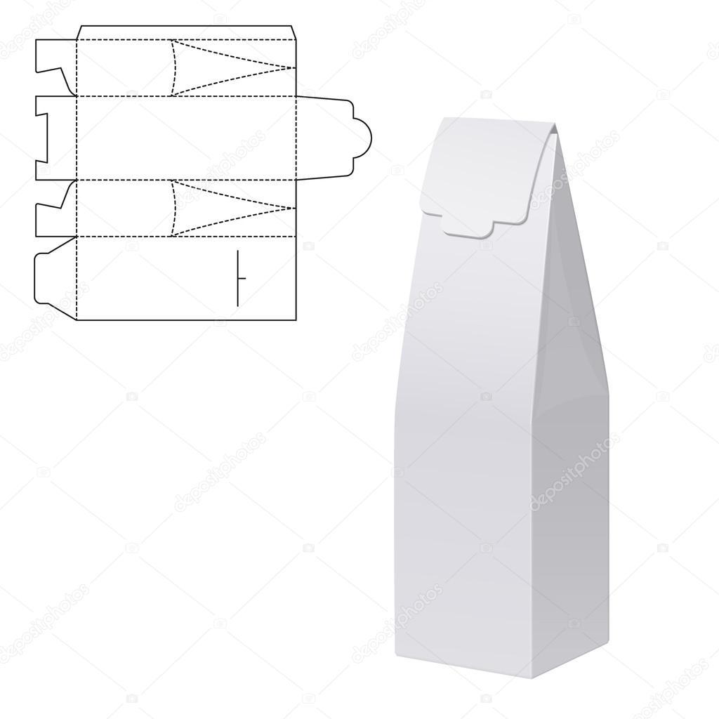 Handwerk Geschenk Box — Stockvektor #99374236