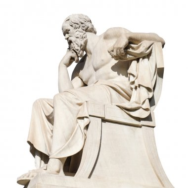Socrates Statue at the Academy of Athens