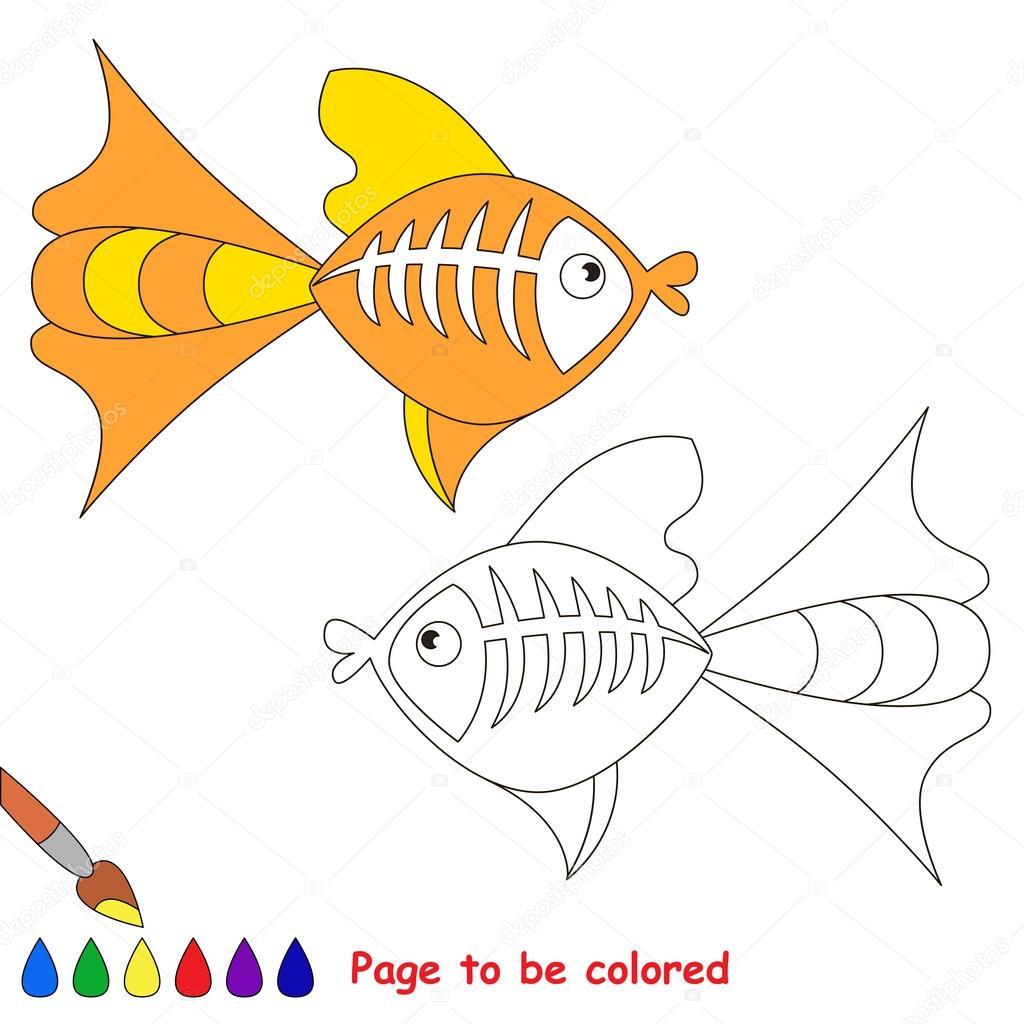 Dibujos Rayos X Dibujos Animados De Pescado De Rayos X