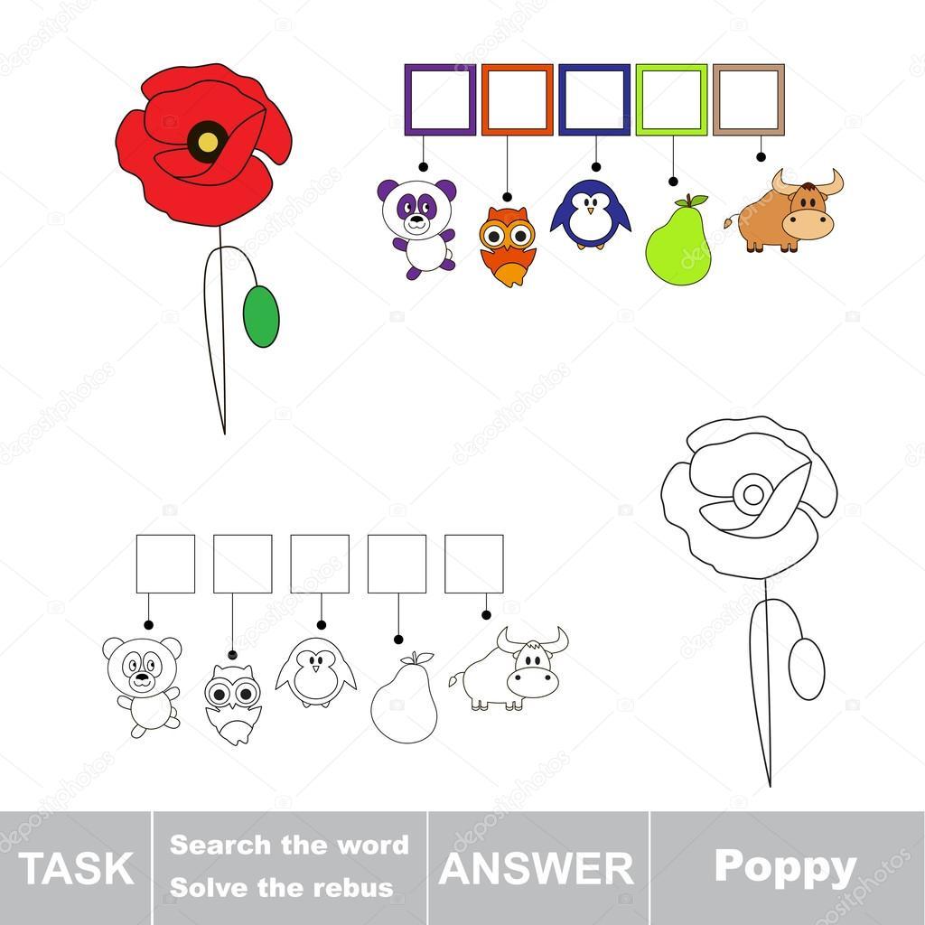 Illustration vectorielle de l'alphabet éducatif : trouver la lettre cachée — Image vectorielle ...