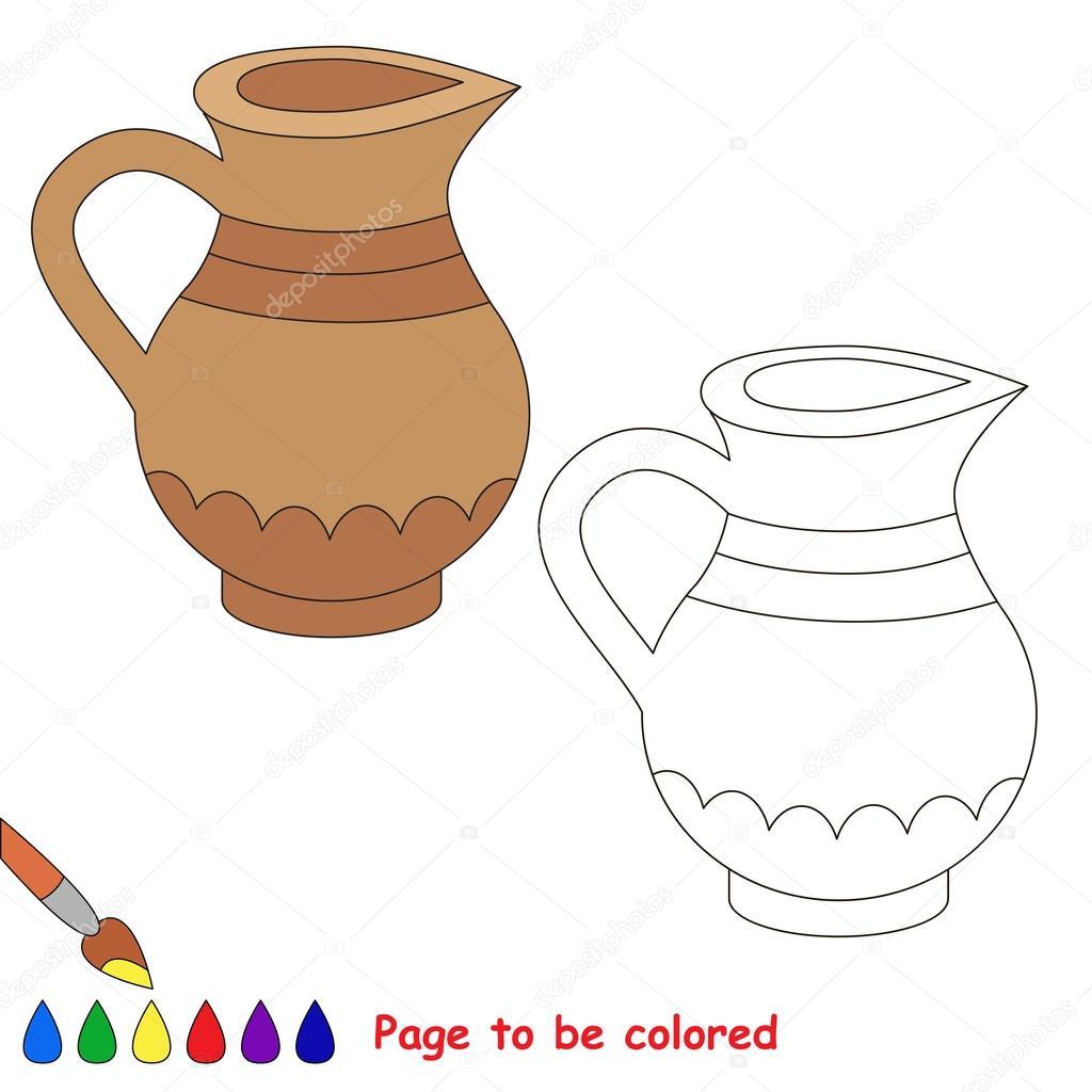 Imágenes Jarras Animadas Para Colorear Dibujos Animados